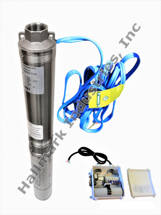 Deep Well Pump with Control Box